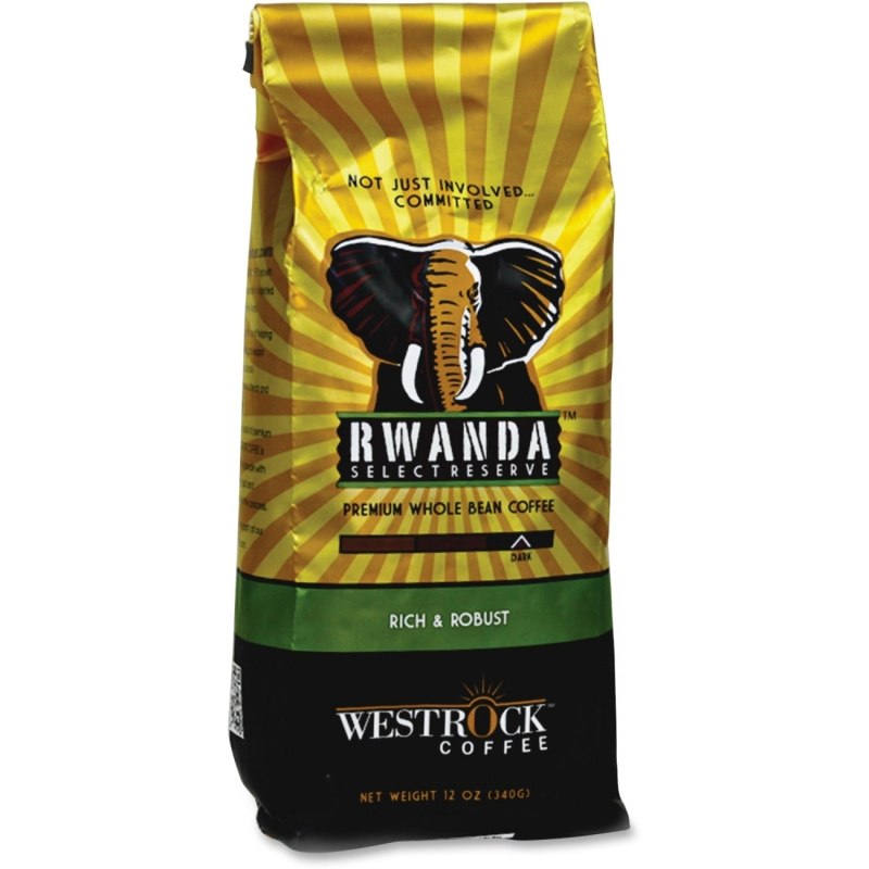 Westrock Rwanda Select Reserve Ground Coffee RSR12GR WCCRSR12GR