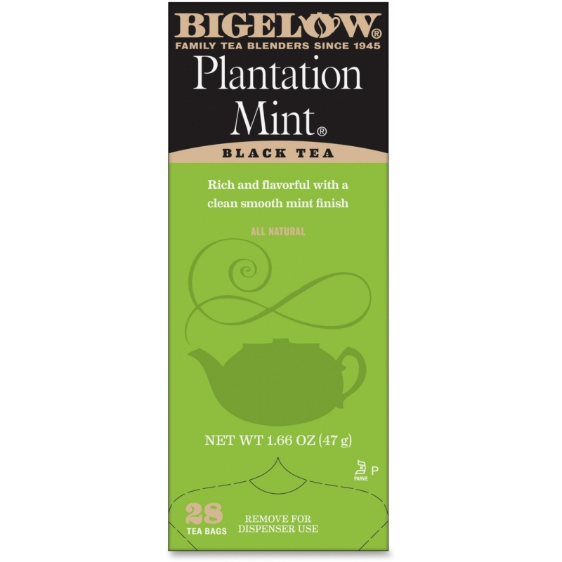Bigelow Plantation Mint Black Tea 10344 BTC10344