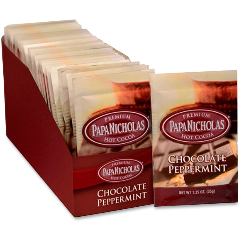 PapaNicholas Coffee Chocolate/Mint Hot Cocoa 79424 PCO79424