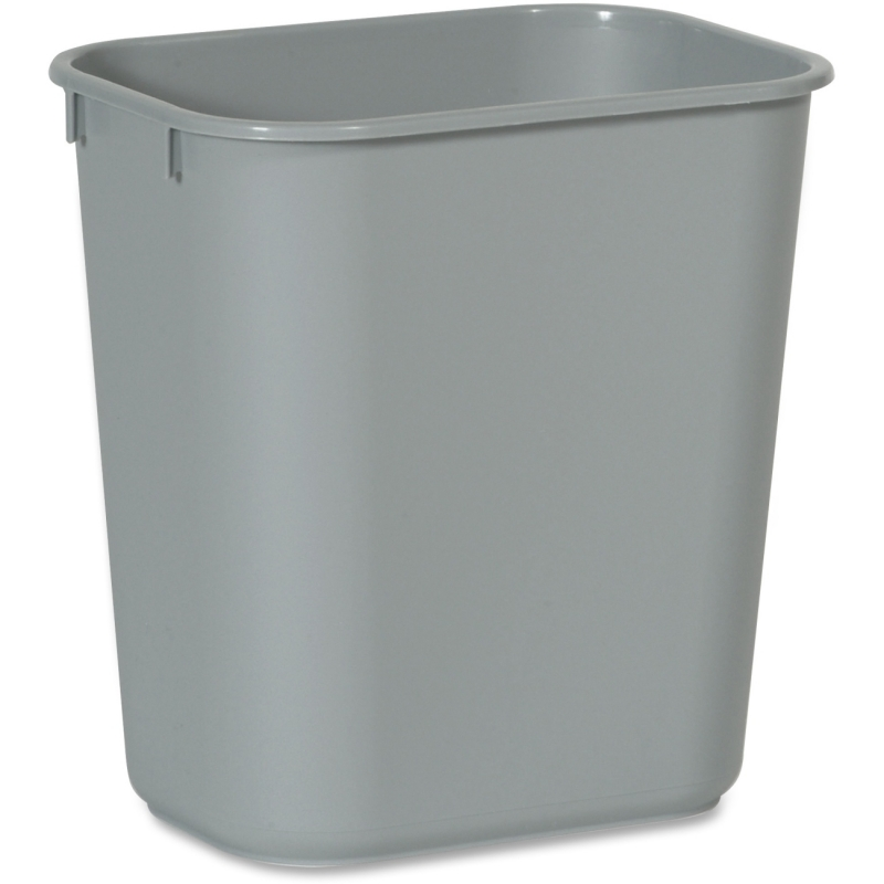 Rubbermaid Commercial Standard Series Wastebaskets 2955GY RCP2955GY