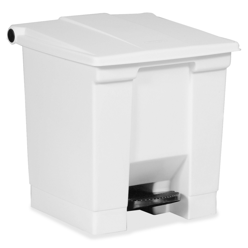 Rubbermaid Commercial Step-On Waste Container 614300WH RCP614300WH