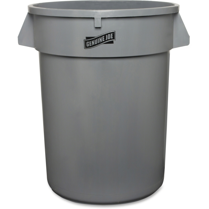 Genuine Joe Heavy-duty Trash Container 60463CT GJO60463CT