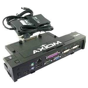 Axiom E-Port Plus Replicator USB 3.0 w/130-Watt Power Adapter Cord for Dell 331-6304-AX