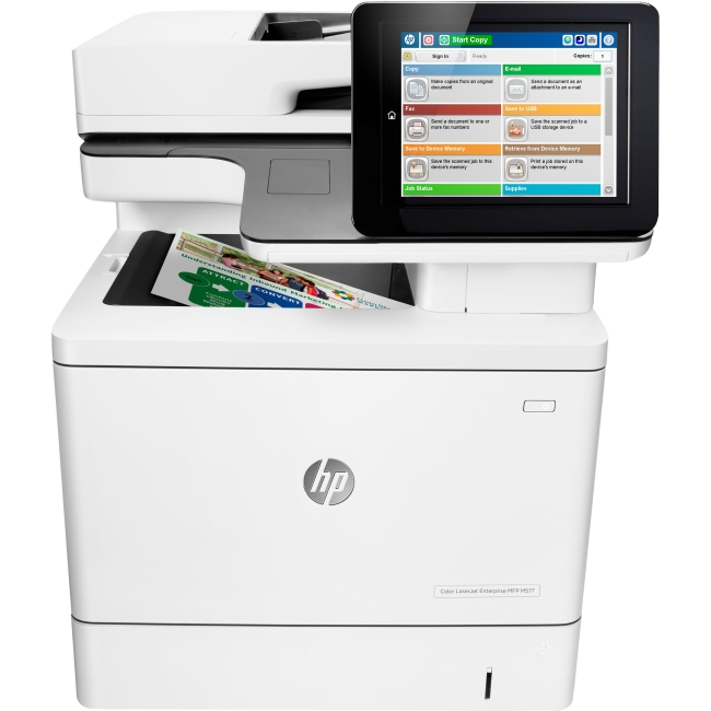 HP LaserJet Laser Multifunction Printer B5L46A#BGJ M577dn