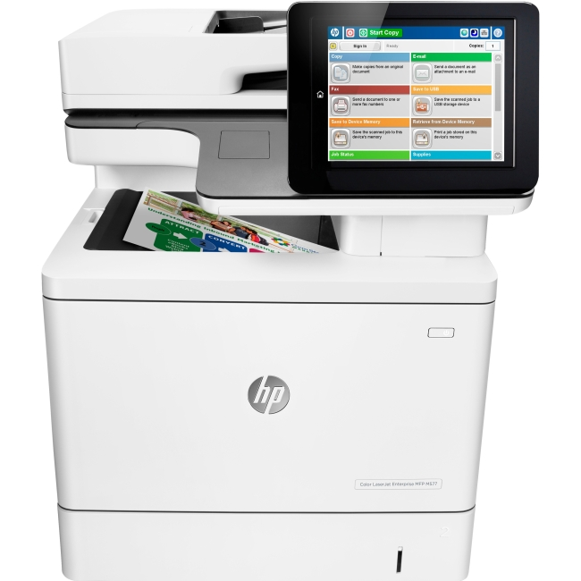 HP LaserJet Laser Multifunction Printer B5L54A#201 M577c