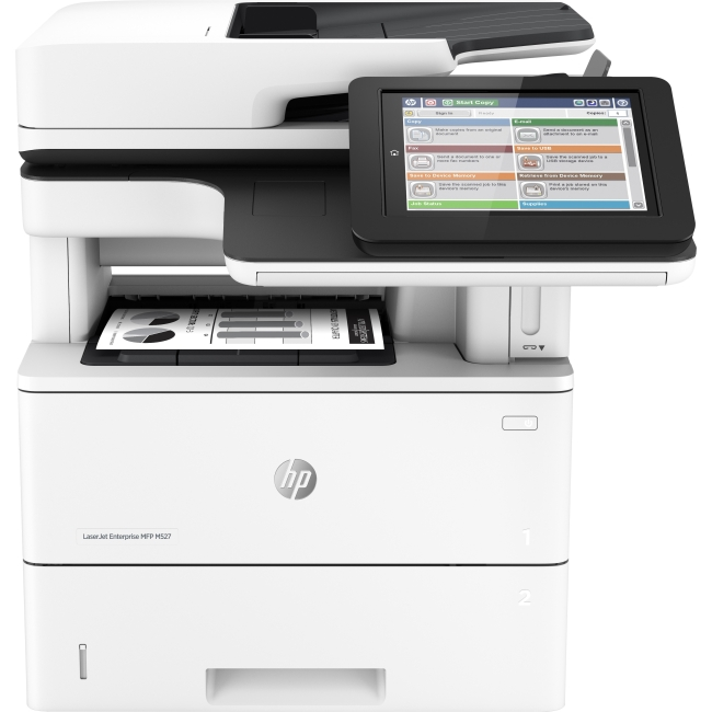 HP LaserJet Enterprise Laser Multifunction Printer F2A76A#BGJ M527dn