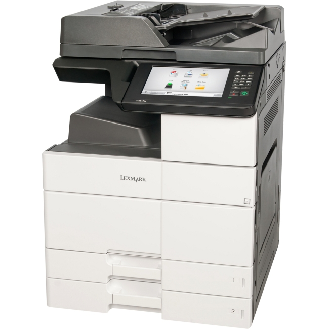 Lexmark Multifunction Laser Printer Government Compliant CAC Enabled 26ZT111 MX910DE