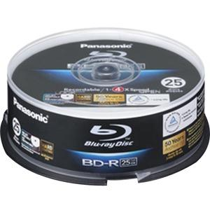 Panasonic 25GB Blu Ray Discs - Spindle Pack LMBRS2LWE25