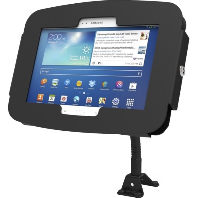 Compulocks Space Galaxy Tab A Enclosure Flex Arm Wall Mount - Fits Galaxy Tab A Models 159B680AGEB