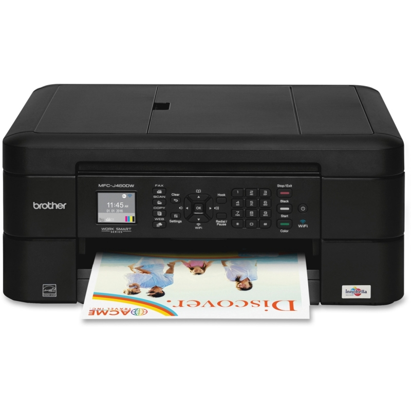 Brother Work Smart Inkjet Multifunction Printer MFC-J460DW BRTMFCJ460DW