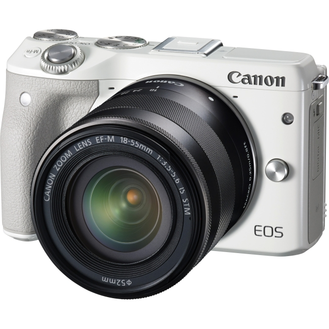 Canon EOS Mirrorless Camera with Lens 9772B011 M3
