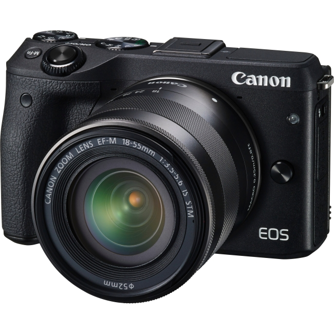 Canon EOS Mirrorless Camera with Lens 9694B011 M3