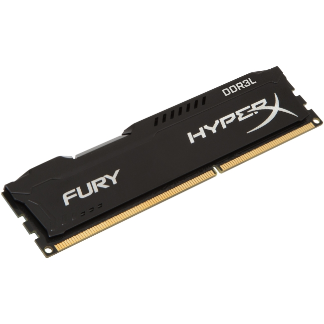 Kingston HyperX FURY Memory Low Voltage - 8GB Module - DDR3L 1600MHz HX316LC10FB/8