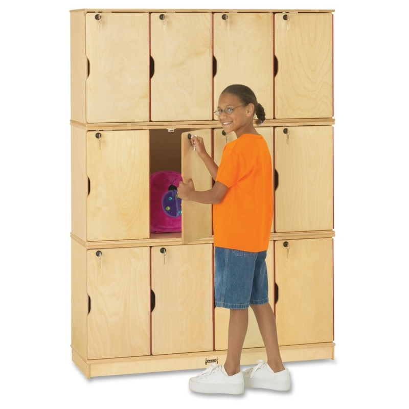Jonti-Craft Jonti-Craft Triple Stack 12-Sectn Student Lockers 4697JC JNT4697JC