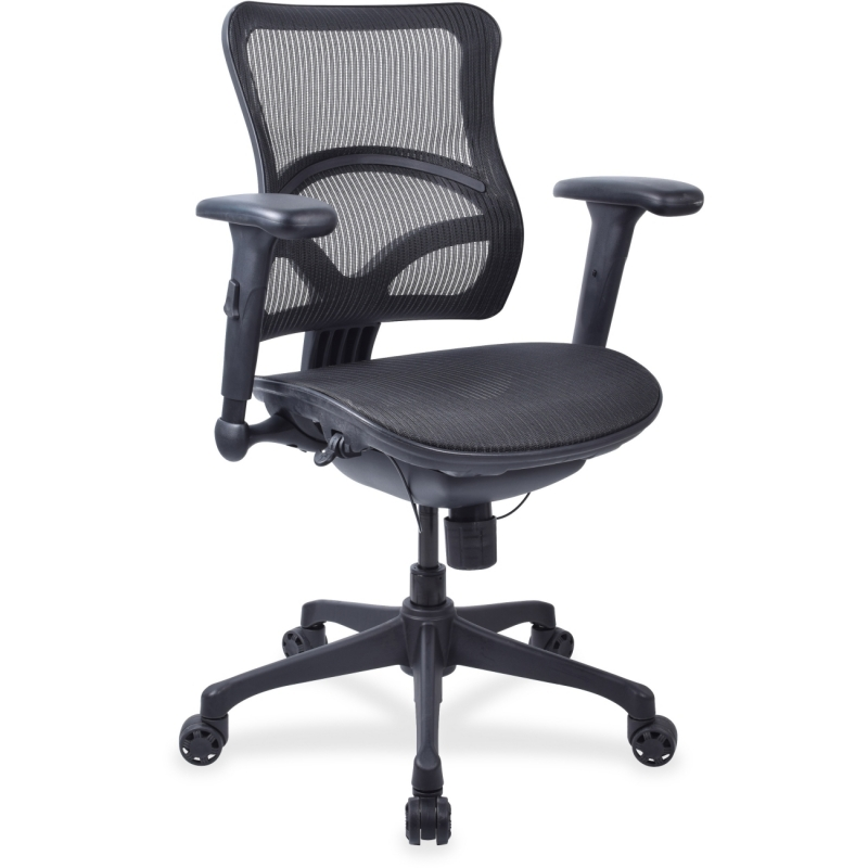 Lorell Full Mesh Mid-back Chair 20977 LLR20977