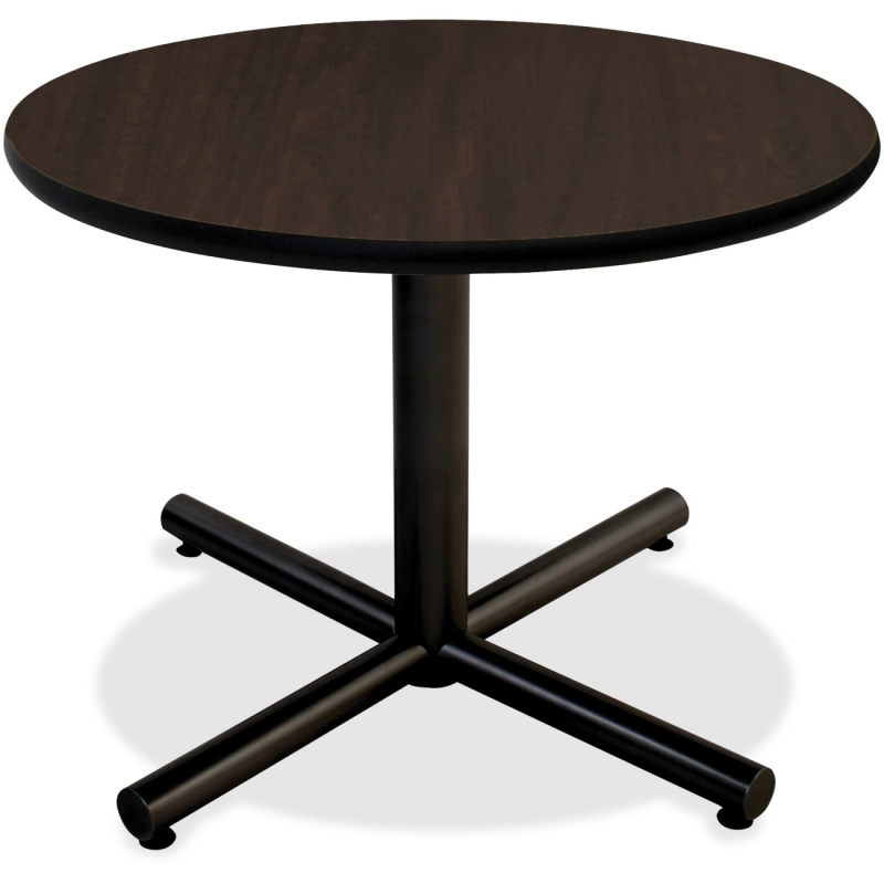 Lorell Hospitality Espresso Laminate Round Tabletop 62580 LLR62580