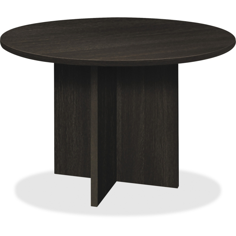 Basyx by HON BL Laminate X-base Round Conference Table BLC48DESES BSXBLC48DESES