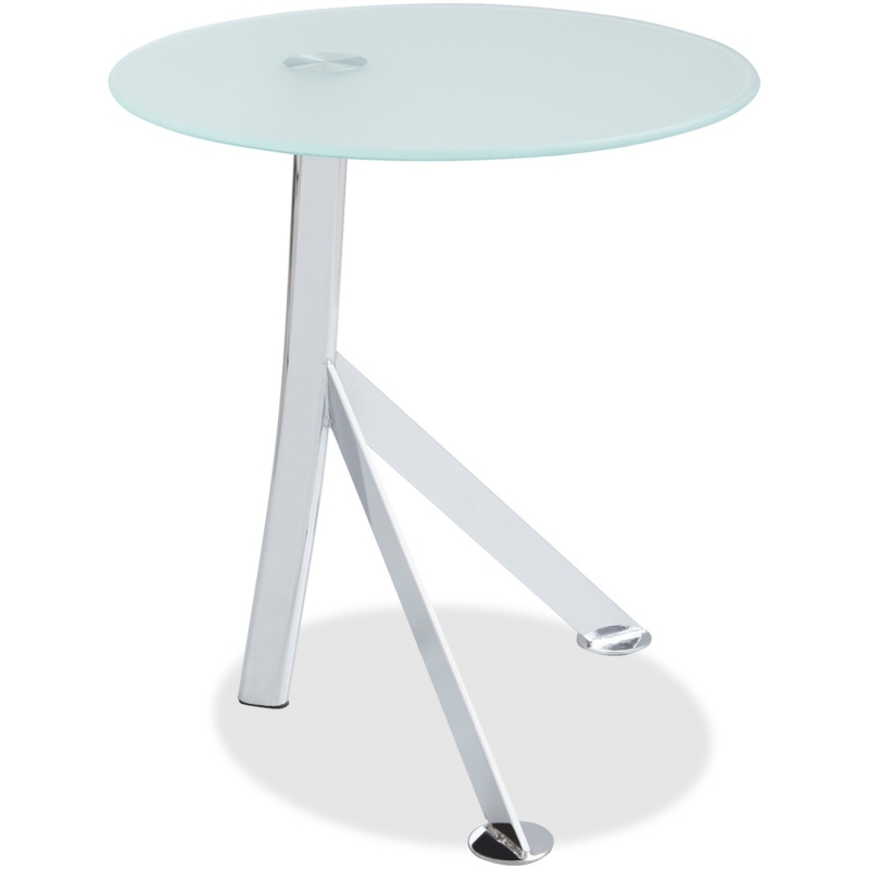 Safco Vari Accent Glass Top Table 5096WH SAF5096WH