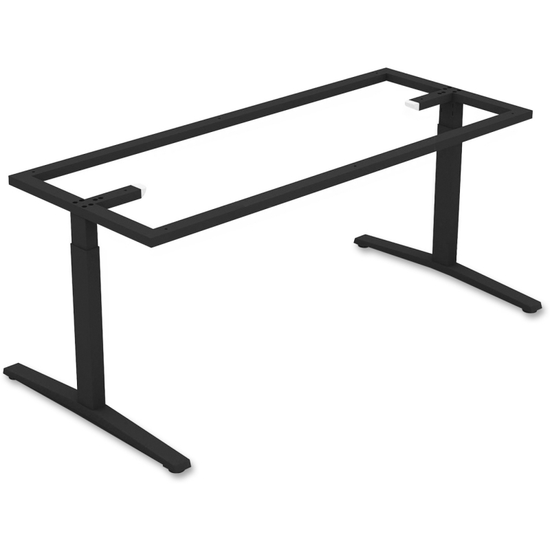 Lorell Rectangular Conference T-leg Table Base 59588 LLR59588