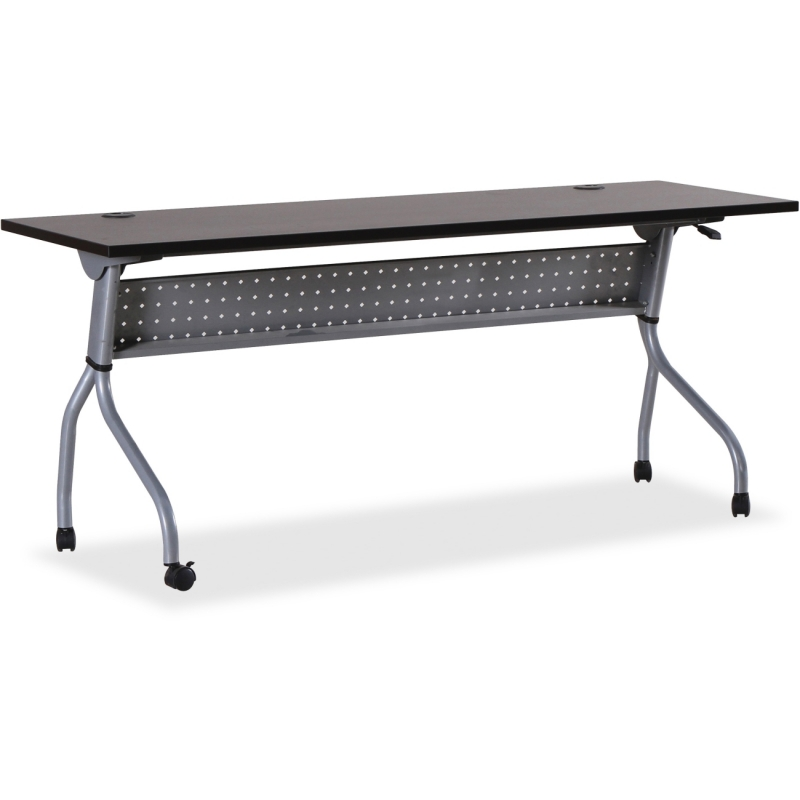 Lorell Espresso/Silver Training Table 60731 LLR60731