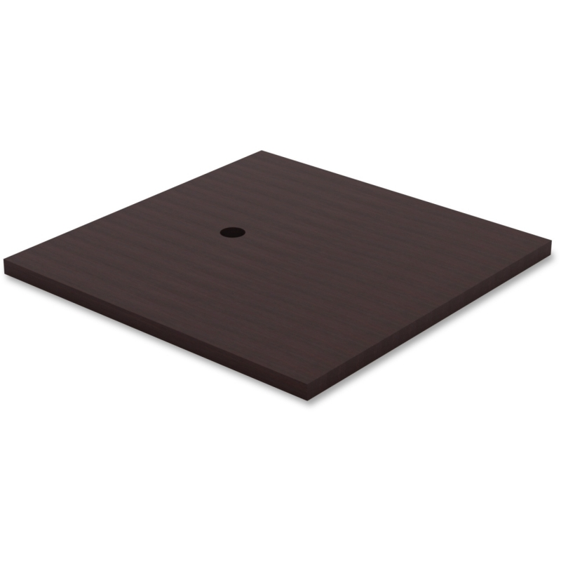 Lorell Prominence Table Espresso Laminate Tabletop 69944 LLR69944