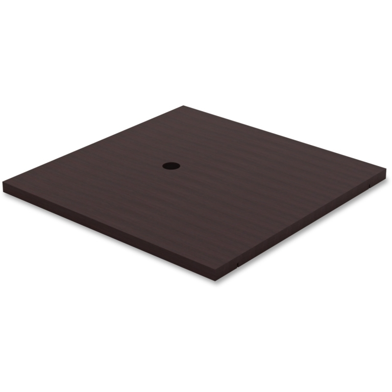 Lorell Prominence Table Espresso Laminate Tabletop 69945 LLR69945
