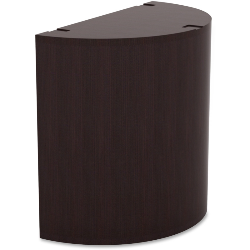 Lorell Prominence Espresso Laminate Curved Table Base 69951 LLR69951
