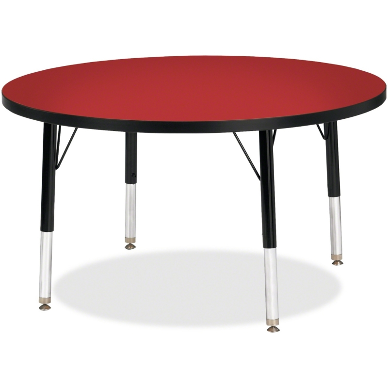Berries Toddler Height Color Top Round Table 6488JCT188 JNT6488JCT188