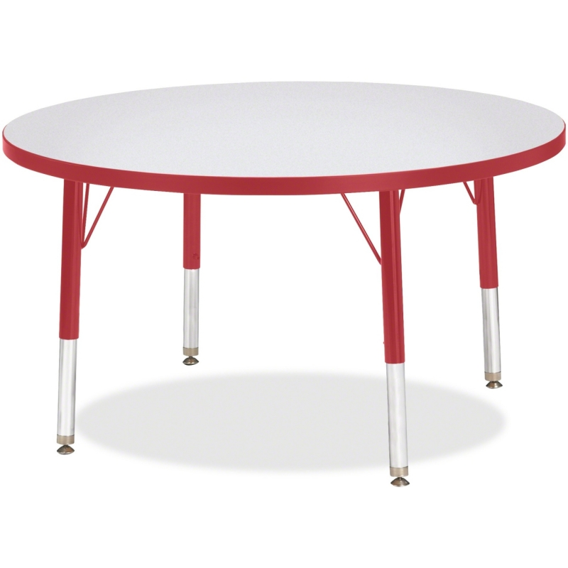 Berries Toddler Height Color Edge Round Table 6488JCT008 JNT6488JCT008