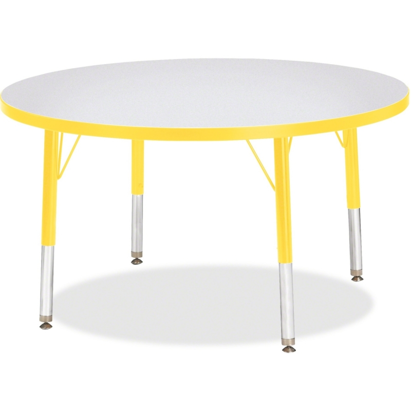 Berries Toddler Height Color Edge Round Table 6488JCT007 JNT6488JCT007