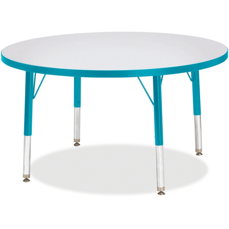 Berries Toddler Height Color Edge Round Table 6488JCT005 JNT6488JCT005