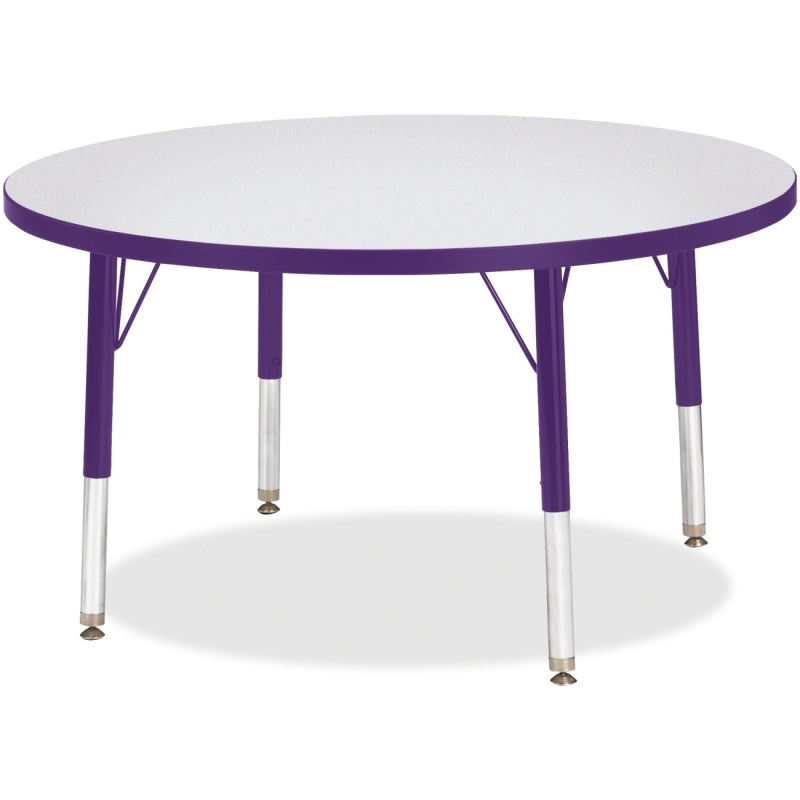 Berries Toddler Height Color Edge Round Table 6488JCT004 JNT6488JCT004