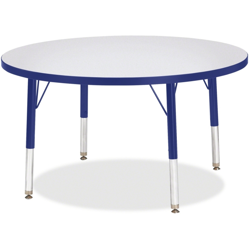 Berries Toddler Height Color Edge Round Table 6488JCT003 JNT6488JCT003