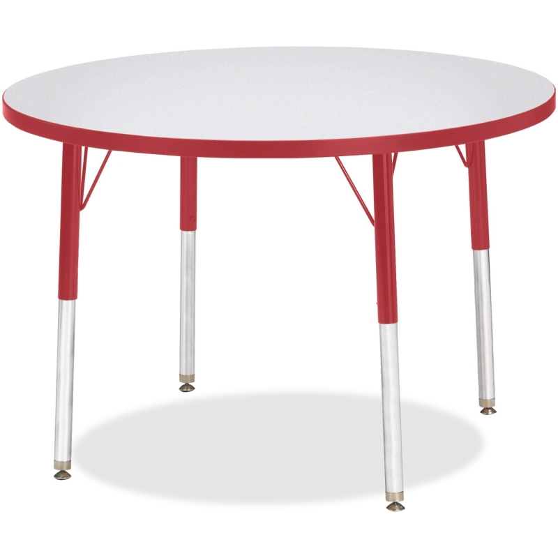 Berries Adult Height Color Edge Round Table 6488JCA008 JNT6488JCA008
