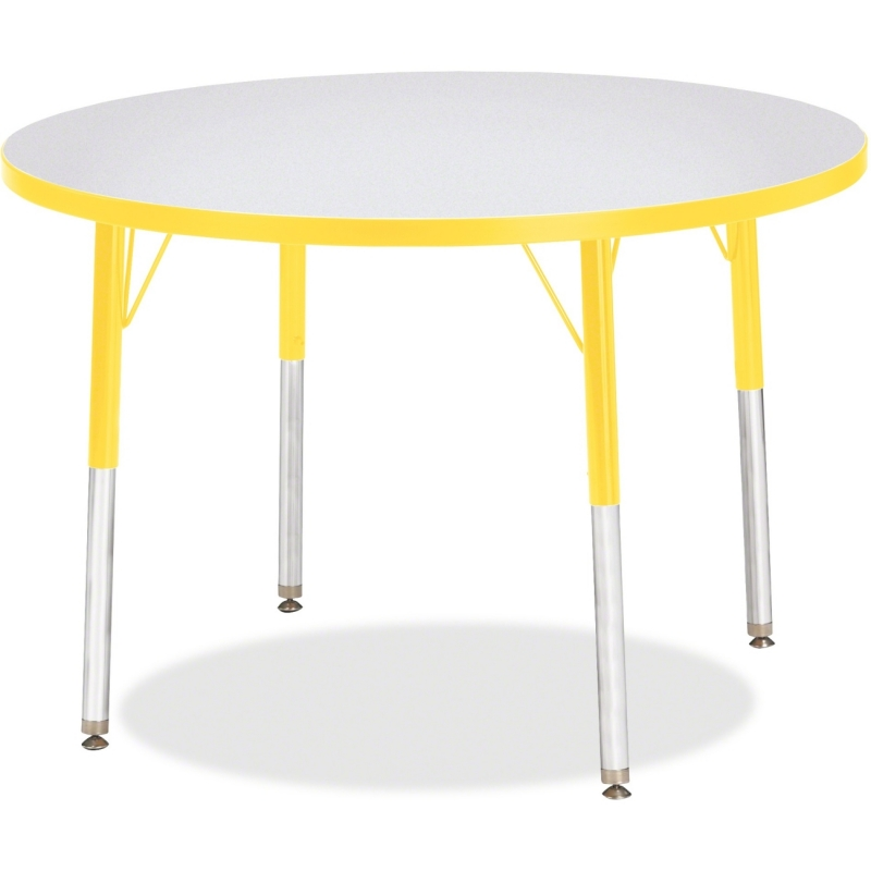 Berries Adult Height Color Edge Round Table 6488JCA007 JNT6488JCA007