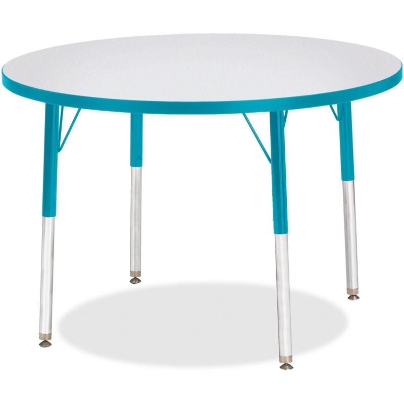 Berries Adult Height Color Edge Round Table 6488JCA005 JNT6488JCA005
