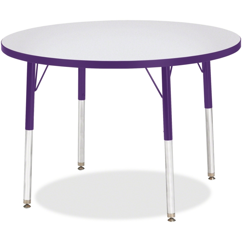Berries Adult Height Color Edge Round Table 6488JCA004 JNT6488JCA004