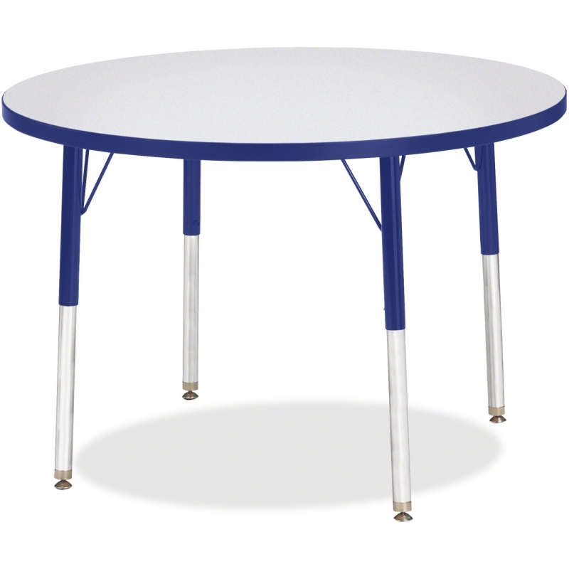 Berries Adult Height Color Edge Round Table 6488JCA003 JNT6488JCA003