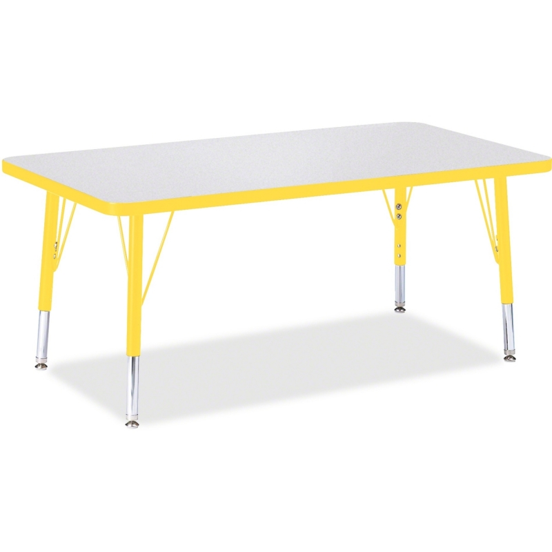 Berries Toddler Height Prism Edge Rectangle Table 6478JCT007 JNT6478JCT007