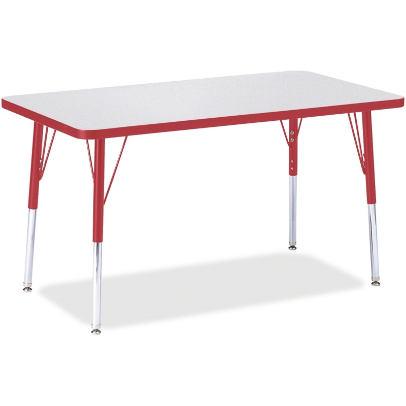 Berries Adult Height Color Edge Rectangle Table 6478JCA008 JNT6478JCA008