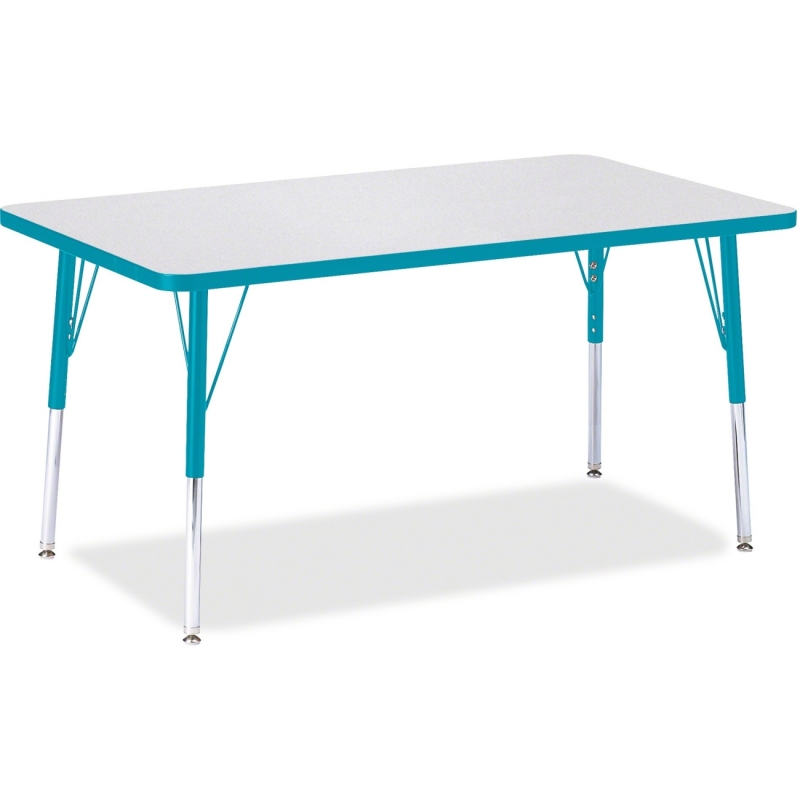 Berries Adult Height Color Edge Rectangle Table 6473JCA005 JNT6473JCA005