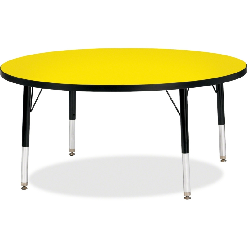 Berries Toddler Height Color Top Round Table 6468JCT187 JNT6468JCT187