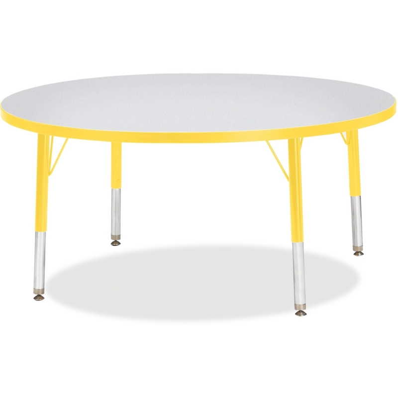 Berries Toddler Height Color Edge Round Table 6468JCT007 JNT6468JCT007