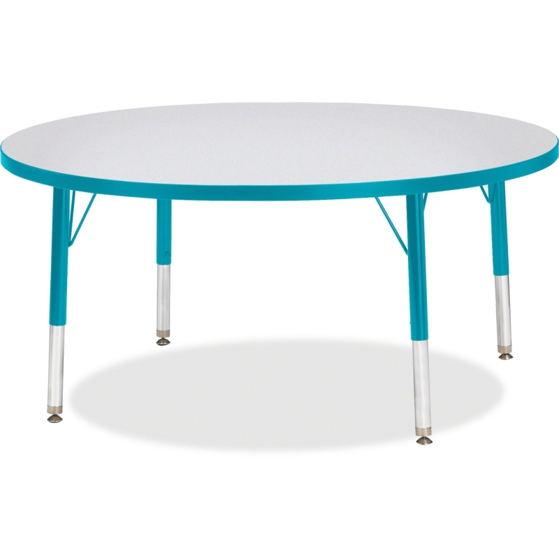 Berries Toddler Height Color Edge Round Table 6468JCT005 JNT6468JCT005