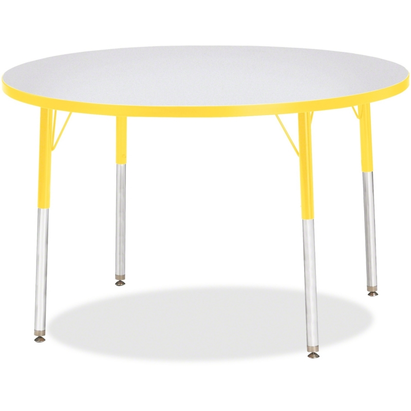 Berries Adult Height Color Edge Round Table 6468JCA007 JNT6468JCA007