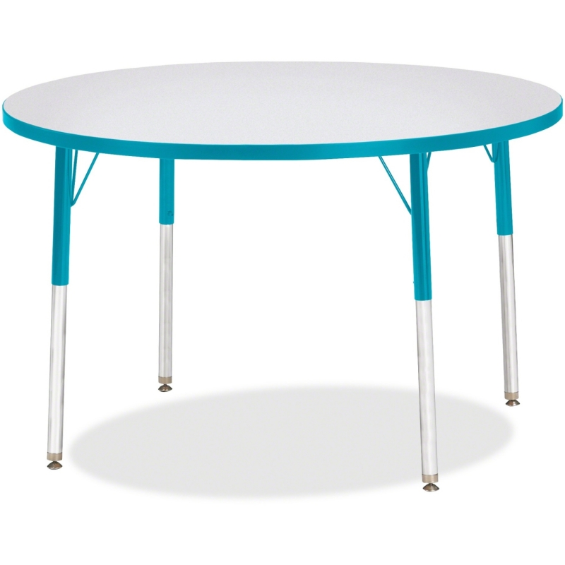 Berries Adult Height Color Edge Round Table 6468JCA005 JNT6468JCA005
