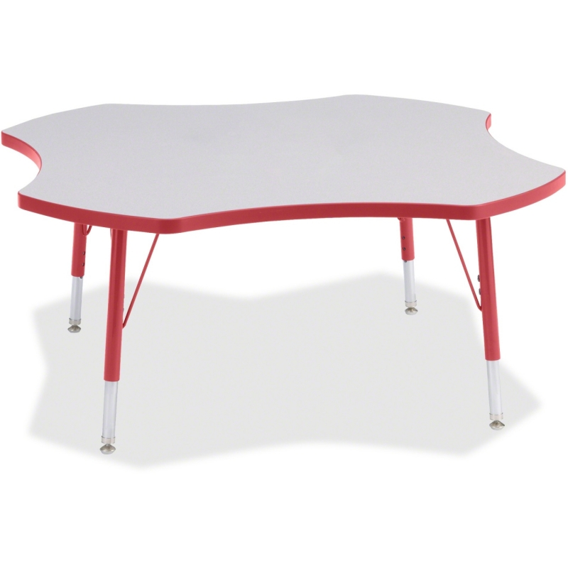 Berries Prism Four-Leaf Student Table 6453JCT008 JNT6453JCT008