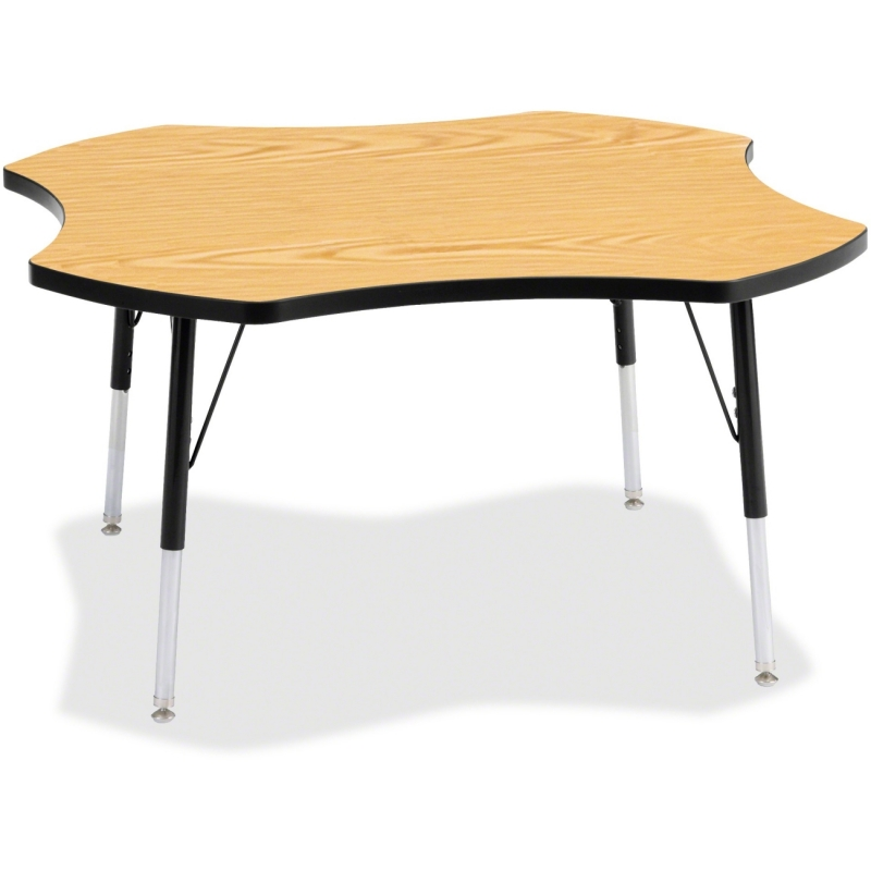 Berries Adult Black Edge Four-leaf Table 6453JCA210 JNT6453JCA210