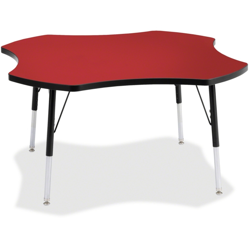 Berries Adult Black Edge Four-leaf Table 6453JCA188 JNT6453JCA188