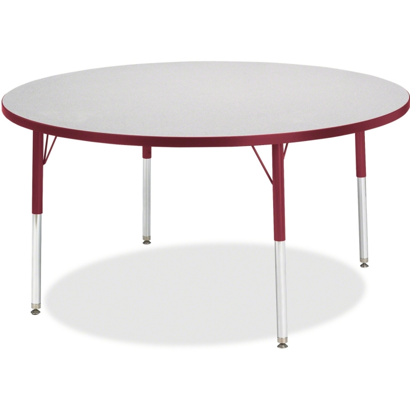 Berries Toddler Height Color Edge Round Table 6433JCT008 JNT6433JCT008
